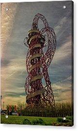 The Orbit London Acrylic Print by Martin Newman