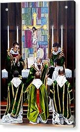 The Ordination Acrylic Print