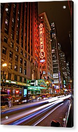 The Oriental Theater Chicago Acrylic Print