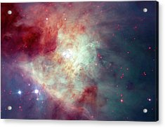 Acrylic Print featuring the photograph The Orion Nebula #3 by Nasa