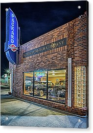 Acrylic Print featuring the photograph The Orphan Motor Company by Susan Rissi Tregoning