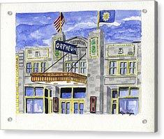 The Orpheum Acrylic Print