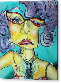 The Other Side Of Her Acrylic Print
