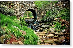 The Other Side Of The Bridge Acrylic Print