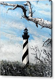 The Other View Of Hatteras Acrylic Print