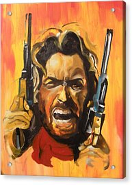 The Outlaw Josey Wales Acrylic Print