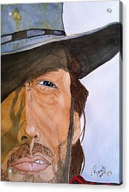 The Outlaw Josey Wales Acrylic Print by Rand Swift