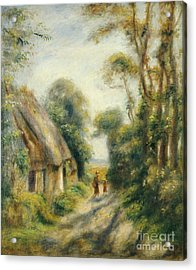 The Outskirts Of Berneval  Acrylic Print by Pierre Auguste Renoir