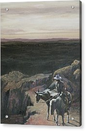 The Overlook Acrylic Print by Mia DeLode