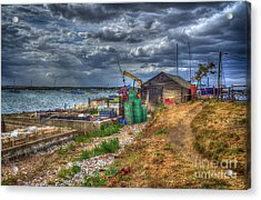 The Oyster Shed Acrylic Print