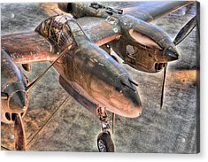 The Pacific Theater Acrylic Print by JC Findley