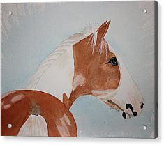 The Paint Acrylic Print