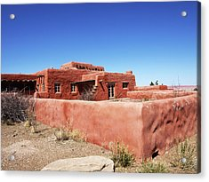The Painted Desert Inn Acrylic Print