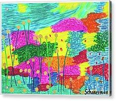 The Painted Desert Redux Acrylic Print