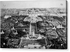 The Palace Of Versailles, 19th Century Acrylic Print by Everett