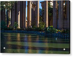 The Palace Pond Acrylic Print