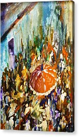 The Palkhi Procession Acrylic Print