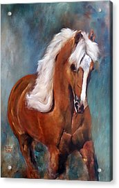 The Palomino 2 Acrylic Print by Barbie Batson