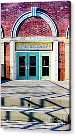 Acrylic Print featuring the photograph The Paramount Theatre by Colleen Kammerer