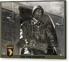 The Paratrooper Acrylic Print