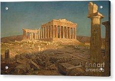 The Parthenon, 1871 Acrylic Print