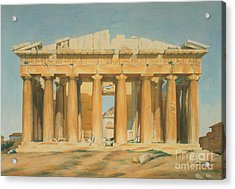 The Parthenon Acrylic Print by Louis Dupre