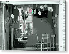 Party Is Over Acrylic Print