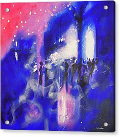 The Party Acrylic Print by Neil McBride