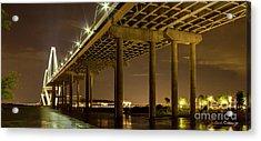 A Great Passageway Arthur Ravenel Jr Bridge Charleston South Carolina Acrylic Print