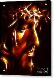 The Passion Of Christ Acrylic Print by Pamela Johnson