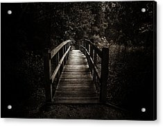 The Path Between Darkness And Light Acrylic Print