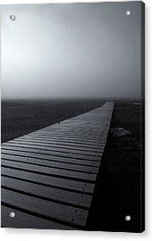 The Path Acrylic Print by Mike  Dawson