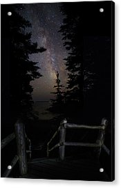 The Path Of The Hunter Acrylic Print by Brent L Ander