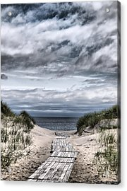 The Path To The Beach Acrylic Print