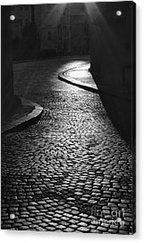 The Pathway Leading To The Light Acrylic Print by Hideaki Sakurai
