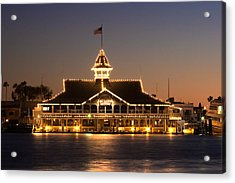 The Pavilion Acrylic Print by Charlie Hunt