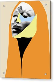 Acrylic Print featuring the digital art The Peace Within by Maria Lankina