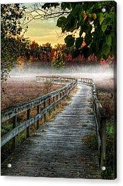 The Peaceful Path Acrylic Print