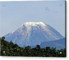 Acrylic Print featuring the photograph The Peak by Blair Wainman