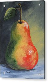 The Pear Chronicles 005 Acrylic Print by Torrie Smiley