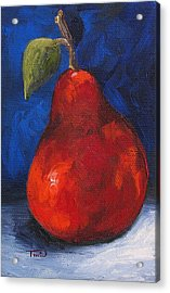 The Pear Chronicles 007 Acrylic Print by Torrie Smiley