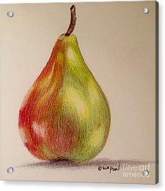The Pear Acrylic Print