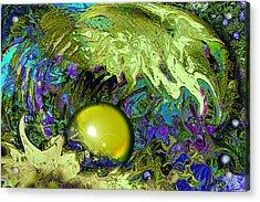 The Pearl Acrylic Print by Anne Weirich