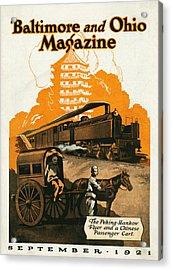 The Peking Hankow Flyer Acrylic Print by Steffan