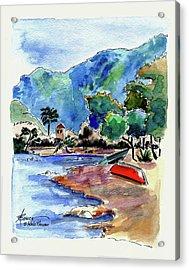 The Peloponnese Acrylic Print