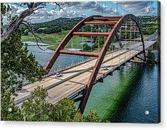 The Pennybacker Bridge Acrylic Print