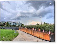 The Pensacola Vietnam Wall Acrylic Print by JC Findley
