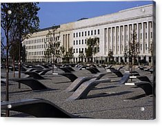 The Pentagon Memorial Honoring The 184 Acrylic Print