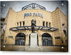 The Peoples Gate - Pnc Park #2 Acrylic Print