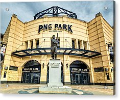 The Peoples Gate - Pnc Park #4 Acrylic Print